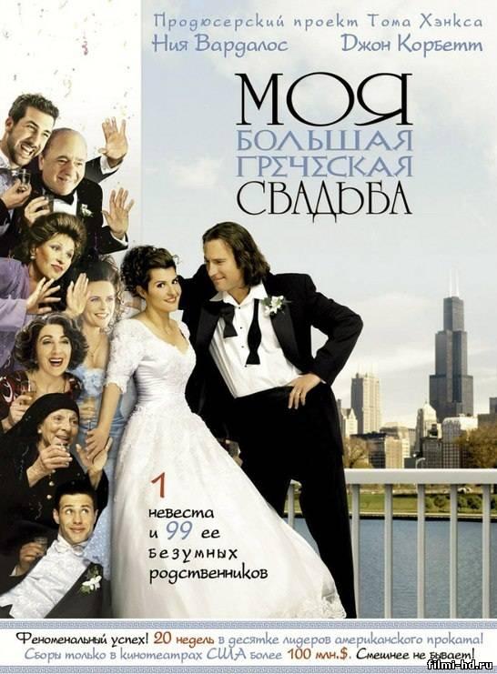 Моя большая греческая свадьба Смотреть онлайн бесплатно